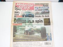 MOTORING NEWS 1996 July 17 British GP, BTCC, CART, F3, BPR GT